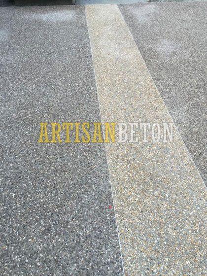 Favorit Béton désactivé Revêtement pour sols extérieurs - ArtisanBeton IW18