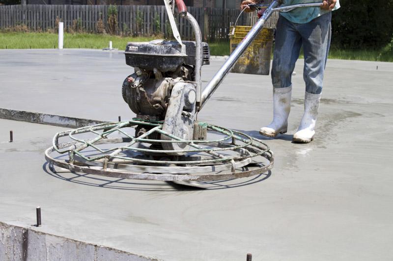 Surfacage beton